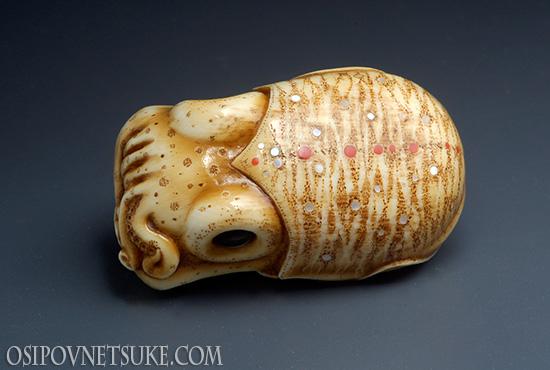 Cuttlefish Netsuke