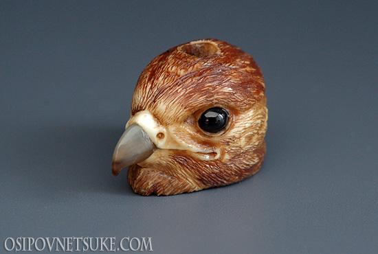 Falcon ojime