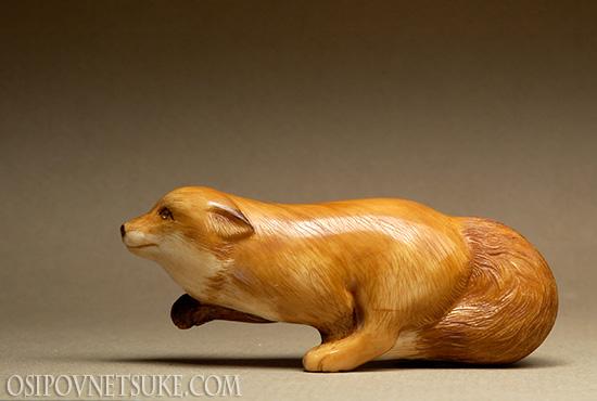 Fox Netsuke