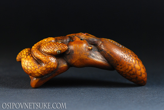 The Okinawan Story Netsuke
