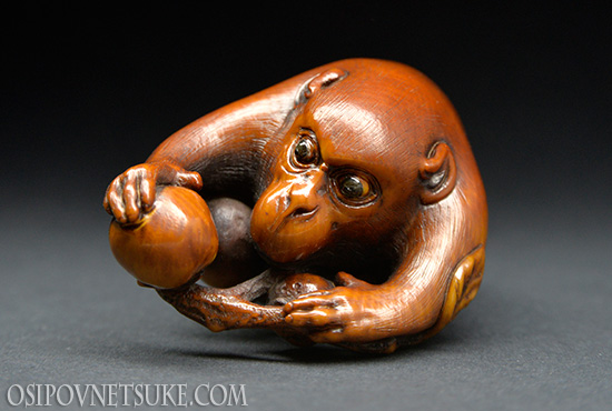 A Right Choise Netsuke