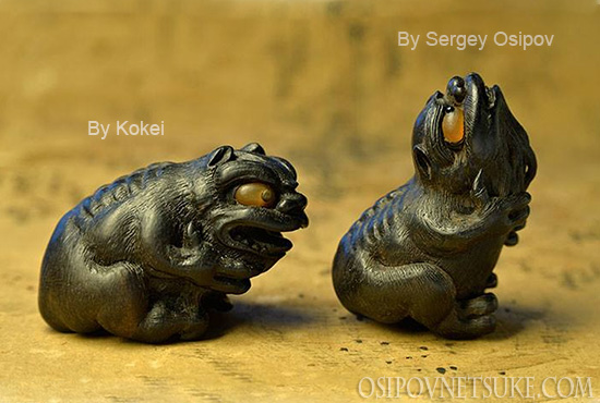 The Spring Song Netsuke