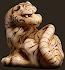Tiger netsuke